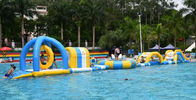 Inflatable Floating Water Park / Inflatable Water Sport Games For Pool